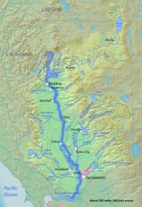 Sacramentorivermap