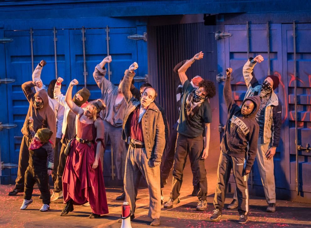 Company of A Tale of Two Cities (2). Photo Johan Persson